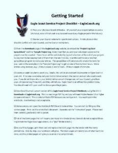 eagle-scout-service-project-checklist